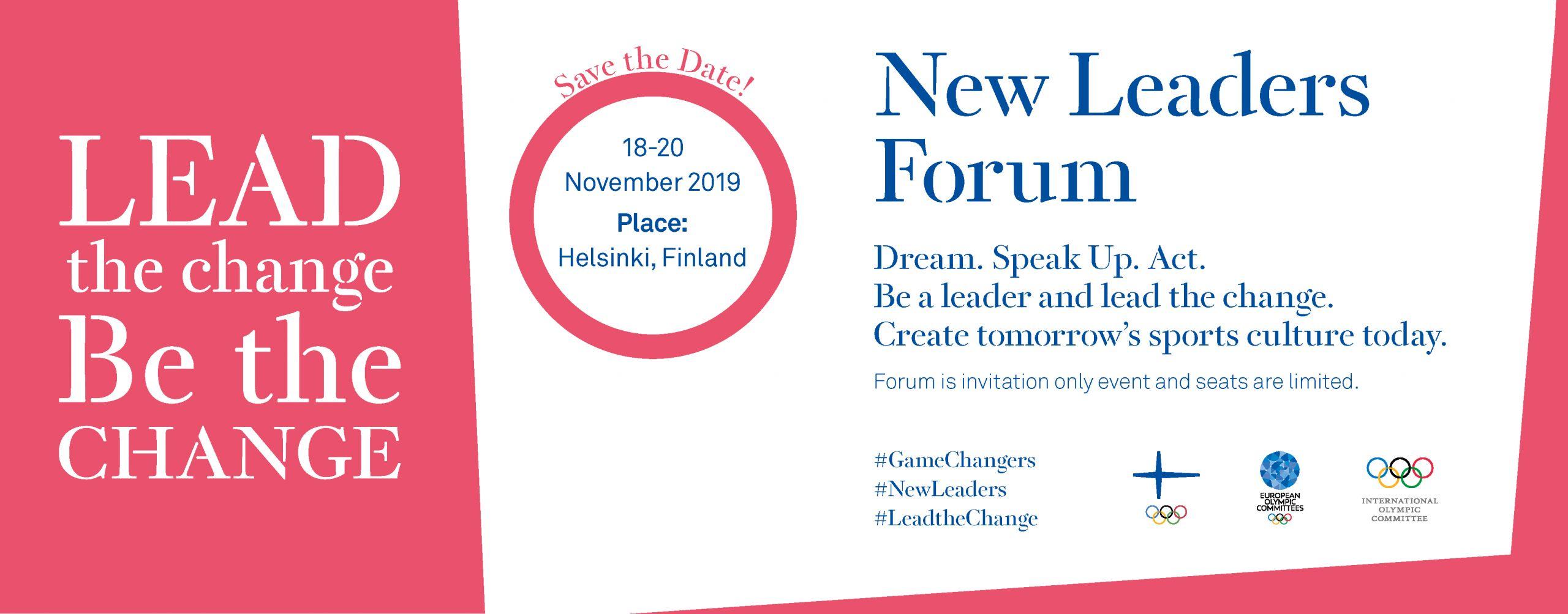New Leaders Forum - Suomen Olympiakomitea