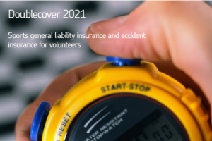 Sports general liability insurance and accident insurance for volunteers.