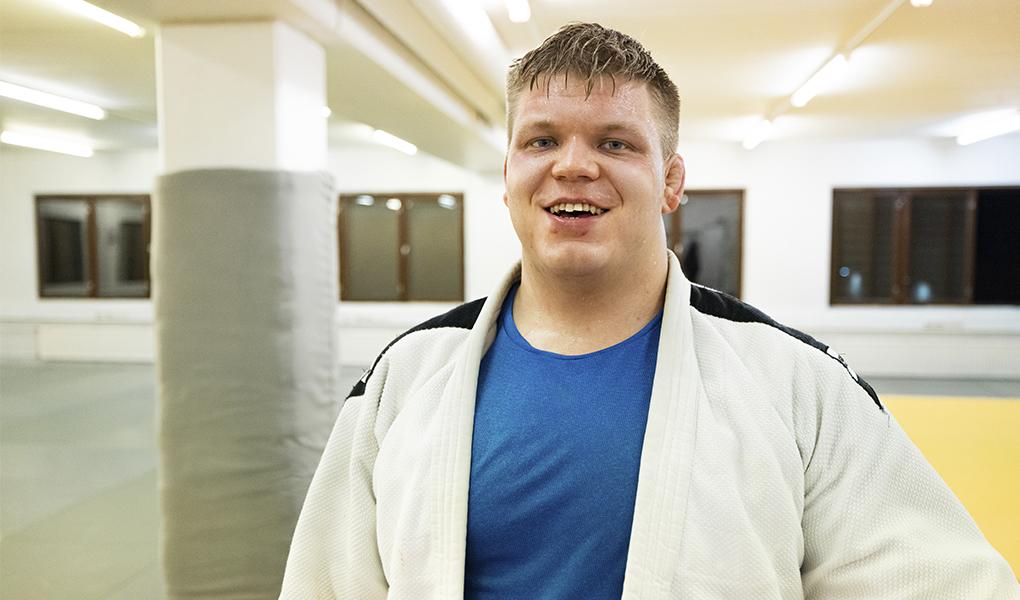Martti Puumalainen säväytti alkuvuodesta Tashkentin Grand Slam -turnauksessa.