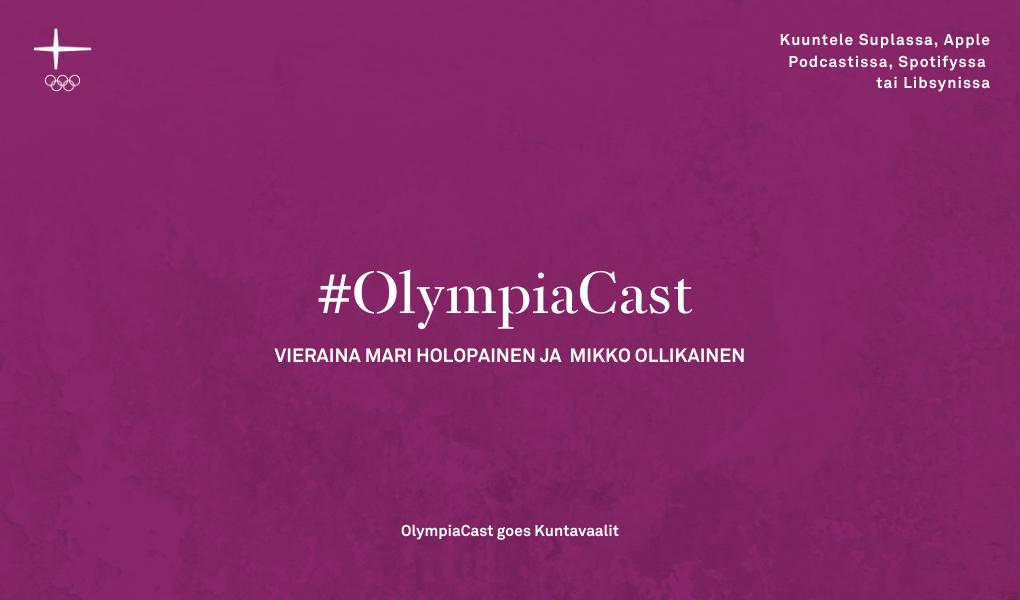 Kuntavaalit OlympiaCast-pohja.