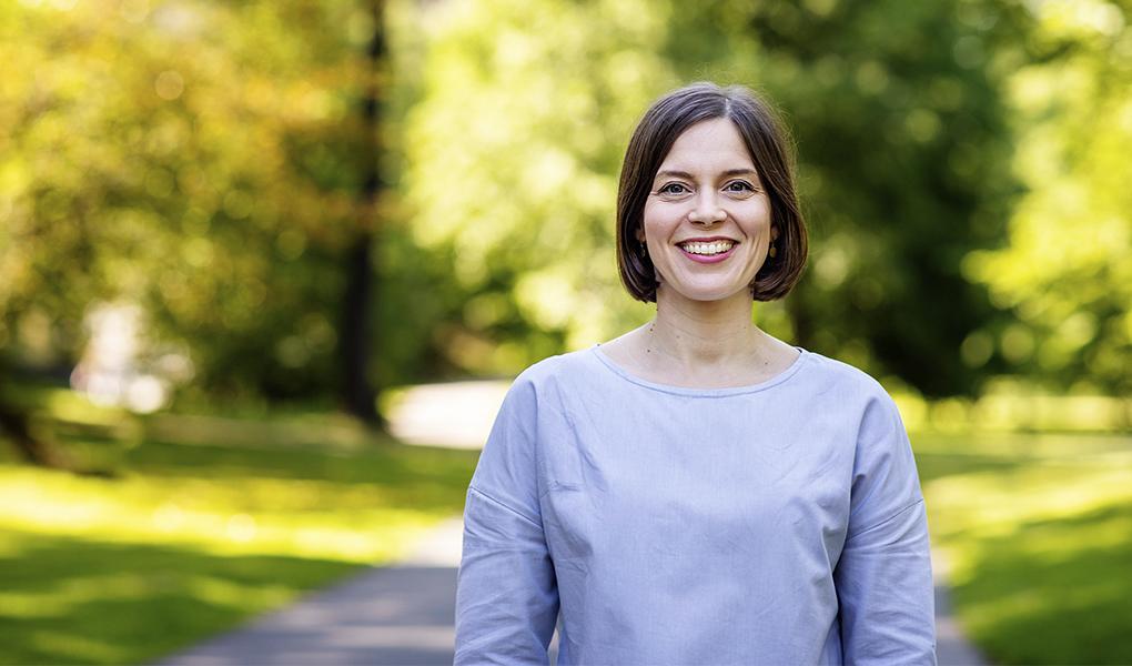 Mari Holopainen. Kuva: Susanna Kekkonen