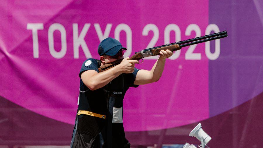 Eetu Kallioinen tähtää Tokion Olympialaisissa. Kuva: Jesse Väänänen