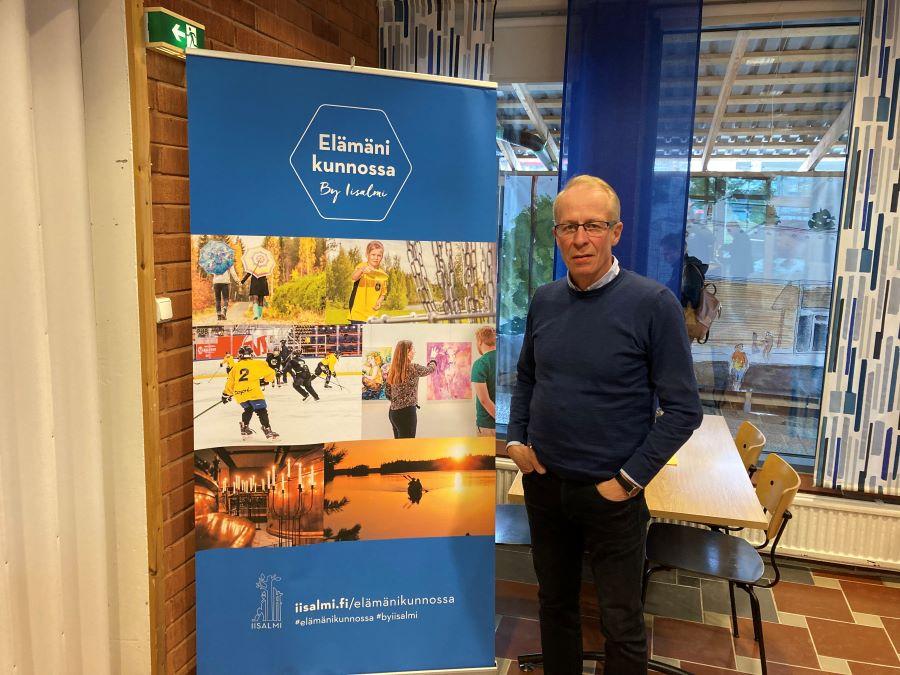 Iisalmen kaupungin kulttuuri- ja vapaajohtaja Pekka Partanen.